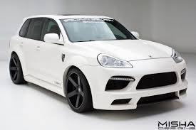 Porsche Cayenne White - misha designs cayenne wide body kit white 19 porsche tuning mag