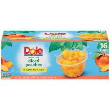 dole fruit bowls dole fruit bowls in box diced in 100 fruit juice fruit