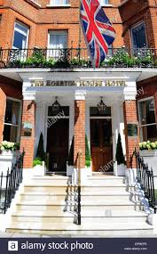 the egerton house hotel knightsbridge london england uk stock