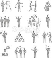 sketch business people vector art thinkstock