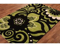 Black Modern Rugs Lime Green Kitchen Rugs Carved Lime Green Black Modern Rug