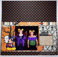 halloween colored scrapbooking background papers aeryn u0027s creative explosion disneyland halloween 2011