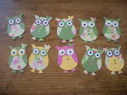 cute owl craft using scrapbook papers cute to decorate a little