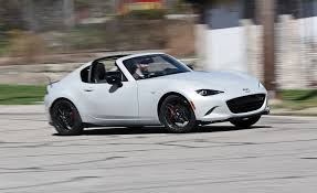 mazda mazda 2017 mazda mx 5 miata rf manual test review car and driver
