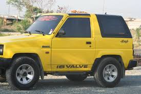 daihatsu feroza offroad imagio 1989 daihatsu feroza specs photos modification info at