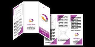 brochure microsoft word template microsoft word tri fold brochure