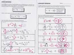 ionic bonding worksheets worksheets u2013 guillermotull com