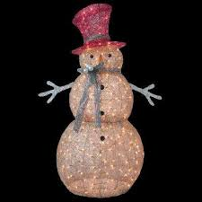 Home Depot Christmas Lawn Decorations Snowman Christmas Yard Decorations Outdoor Christmas