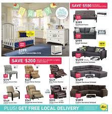 Morgan Convertible Crib by Leon U0027s Weekly Flyer Anniversary Sale May 31 U2013 Jun 14