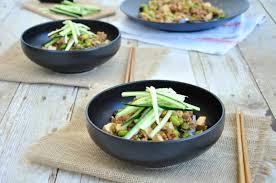 asian noodles in hoisin sauce gourmet persuasian
