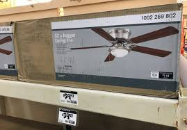 home depot black friday 2017 coupnes hugger 52 in led ceiling fan only 39 97 at home depot the