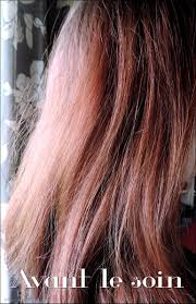 cheveux rouge acajou le soin effaceur de couleur soin miracle betty beauty blog