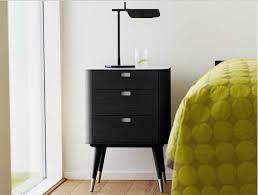 nachttischle design nachttische anthrazit mit weiße mdf topplatte inklusive drei