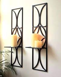 Candle Holder Wall Sconces Fantastic Decorative Wall Sconces Stunning Candle Holder Wall