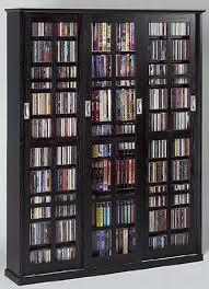 leslie dame media storage cabinet amazon com leslie dame ms 1050b mission style multimedia storage