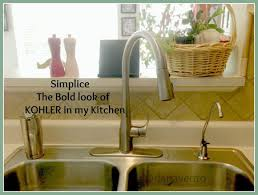 kohler simplice kitchen faucet simply simplice faucet changing the way we do dishes