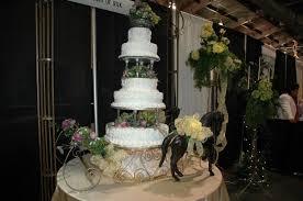 potpourri of silk flowers and cakes wedding cake cedar hill