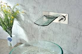 Sumerain Waterfall Faucet Installing A Wall Mounted Faucet And Why Your Contractor Doesn U0027t
