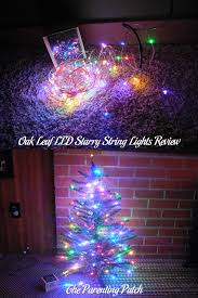 oak leaf led starry string lights review parenting patch