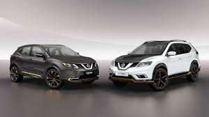 white nissan 2016 nissan u0027s qashqai and x trail premium concepts hint at vignale