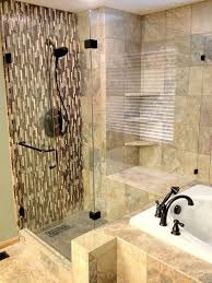 tub with glass shower door custom glass shower doors design installation repair