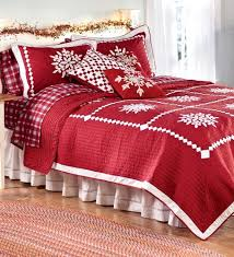 christmas quilt sets christmas bedding holidays and queen quilt