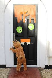 Scary Halloween Door Decorations by 61 Halloween Door Decorations For Toddlers Site 25 Cute Halloween