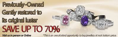 pre owned engagement rings gold canada sell preowned jewellery