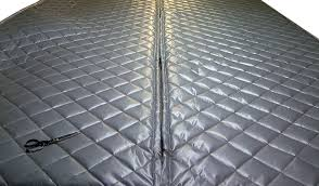 Sound Barrier Curtain Amazon Com Singer Safety Double Faced Quilted Fiberglass Panel 4