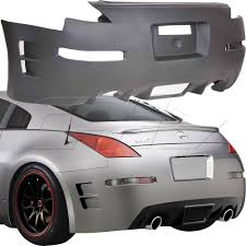Nissan 350z Accessories - c speed rear bumper body kit 1 pc for nissan 350z 03 08 duraflex