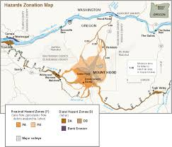 Portland Oregon County Map by Mount Hood History And Hazards Of Oregon U0027s Most Recently Active