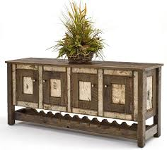 rustic birch bark sideboards adirondack style furniture