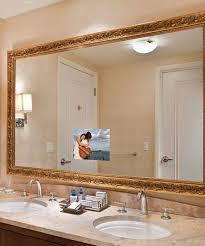 Bathroom With Mirror Bathroom Mirror Tvs Electric Mirror The Global Leader In Mirror