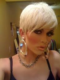 sissy boys hair dryers pixie hair is great for crossdressing you can style it like a