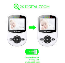amazon com minilabo video baby monitor wireless digital camera
