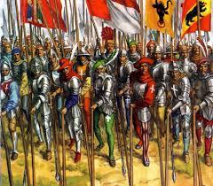 siege social swiss swiss pikemen in battle war