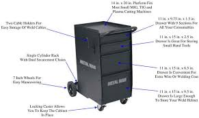 welding cabinet with drawers man dwc1 deluxe welding cabinet