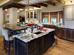Wooden Country Kitchen - appliances overwhelming country kitchen showcasing ample craft