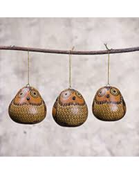 sale dried mate gourd ornaments sweet guardians set