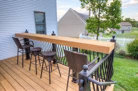 unfinished ipe backyard deck in york pa stump u0027s decks u0026 porches