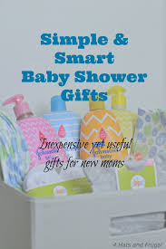 gifts for baby shower simple and smart baby shower gifts 4 hats and frugal