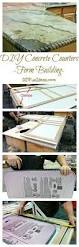 How To Make A Concrete Table by How To Make A Concrete Countertop More Countertops How To Build