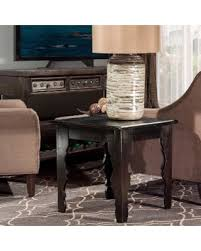 distressed black end table great deals on hillsdale keegan distressed black end table
