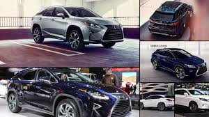 lexus rx new york motor show lexus rx all years and modifications with reviews msrp ratings