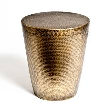 Brass Accent Table Round Drum Accent Table Round Designs