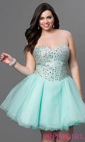 short a line short prom corset dress