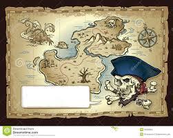 Blank Treasure Map by Skull Island Treasure Map Stock Photos Image 29926903