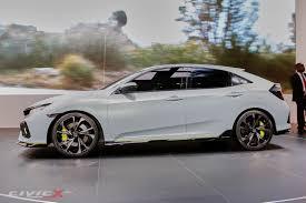 subaru wrx hatch stance official civic hatchback prototype unveiled 2016 honda civic