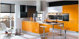 designing kitchens orange kitchens