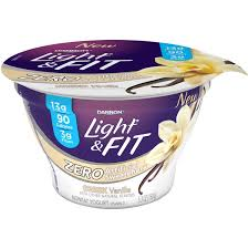 light and fit vanilla yogurt light fit greek greek vanilla nonfat yogurt from vons instacart
